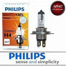 LAMPADA PHILIPS H4 VISION +30% DI LUCE 12V 60/55W (1 PEZZO) COD. 12342PRC1