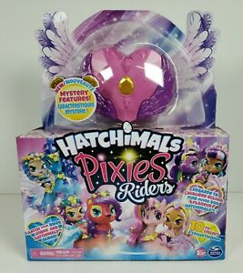 Hatchimals Pixies Riders Crystal Charlotte & Draggle Glider