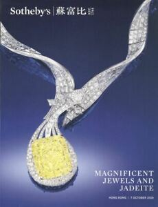 Sotheby's Catalogue Hong Kong Magnificent Jewels and Jadeite 07/10/2019 HB
