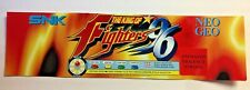Vintage SNK Neo-Geo The King of Fighters '96 Arcade Machine Translite Marquee