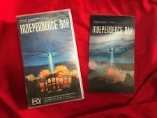Independence Day Special Edition With Hologram Card ID4 VHS Video Tape THX