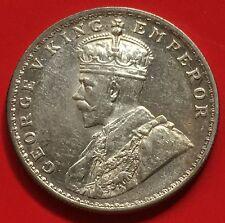 India one Rupee KGV 1918 Au
