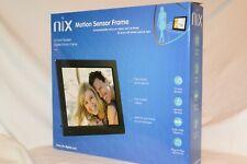 "**NEW** NIX X12C 12"" DIGITAL PHOTO FRAME W/SENSOR 4GB MEMORY"
