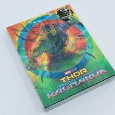 Thor: Ragnarok 3D+2D Blu-ray SteelBook Lenticuar Slip Blufans Exclusive #44