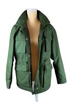 Hennes & Mauritz HM Hunter Green Cotton Cargo Explorer Jacket Women's14