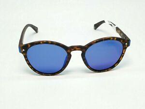 Polaroid Sunglasses PLD6034S Oval Havana Brown/Blue Polarized Lenses