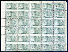 Canada 1961 50c Textile Industry thin G ovpt. 83 mint nh copies (2019/11/22#02)