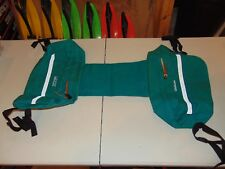 New Kimpex CKX 274014 Snowmobile Teal Color Saddle Travel Bag Luggage/Cargo