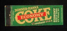 1940s Full Length Donner-Hanna Economy Coke Economy Fuel Corp. Pearl Buffalo NY