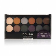 MUA Twelfth Night Palette 12 COLOURS BROWNS NEW & SEALED FULL SIZE EYE SHADOWS