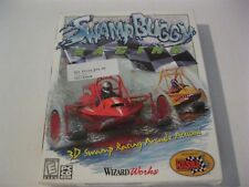 Swamp Buggy Racing new PC game CD-ROM Wizard Works 1999