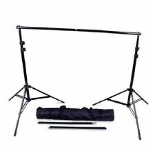 Photo Studio Heavy Duty Backdrop Support System 12ft Background Stand Set