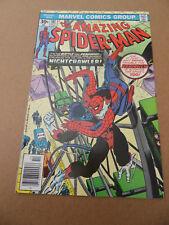 Amazing Spider-Man 161 . Nightcrawler / Punisher App . Marvel 1976 . FN +