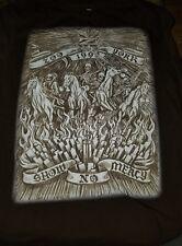 "Zoo York 90s vintage t-shirt ""Show No Mercy"" size XXL 100% cotton - great shape"