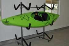 Kayak Storage Rack and Cart, 6 Kayak Capacity