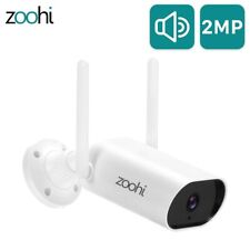 Zoohi Wireless 1080P HD IP Home Security Camera Outdoor WiFi CCTV System Night