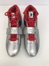 Under Armour Mid MC 1270237-601 Cam Newton Football Cleats Shoes Men's 12 (UA1)