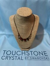 Touchstone Crystal by Swarovski Lava Flow Necklace