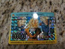 DRAGON BALL Z PULL PACK PP PART 19 PRISM No.803