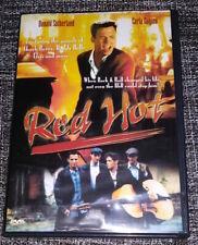 Red Hot 1993 Movie DVD 2005 Donald Sutherland Carla Gugino Hugh O'Conor HTF