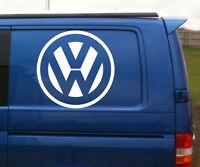 VW Volkswagen logo quality large vinyl decal sticker van vw transporter