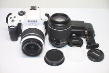 Come Stabilizzatore d'immagine Pentax K-50 16.3MP FOTOCAMERA REFLEX DIGITALE BIANCO KIT WR LENTE 18-55mm 50-200mm
