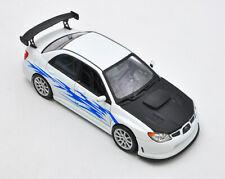1:24 Welly Subaru Impreza WRX STI Diecast Car Model Toy