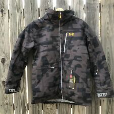 Under Armour Gridline StormProof Cold Gear Snowboard Jacket Men's Large SAMPLE
