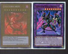 Yugioh Card - Ultra Rare Holo - Gladiator Beast Andabata BLLR-EN022 NEW
