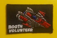 DROIDS A-WING Fighter Booth Volunteer patch Celebration Chicago 2019 kenner type