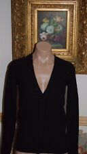 BNWT Beautiful Designer JUICY COUTURE Ladies Black Wool/Cashmere Cardigan  S