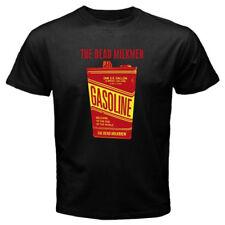 New The Dead Milkmen Gasoline Album Logo Men's Black T-Shirt Size S-3XL