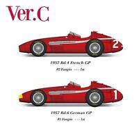 1/20 Maquette en Kit Maserati 250F 1957 GP french/german model factory hiro  K71