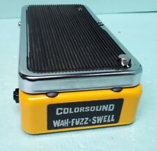 Vintage Sola Sound COLORSOUND Wah Fuzz Swell Made In England Tested Working