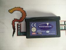 NINTENDO GAME BOY ADVANCE GBA DISNEY PIXAR RATATOUILLE SOLO CARTUCHO PAL EUR