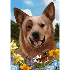 Summer House Flag - Red Australian Cattle Dog 18281