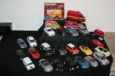 Konvolut 27 alte Fahrzeuge Spielzeugautos Modellautos 1/43 - 1/32 Welly u.a.