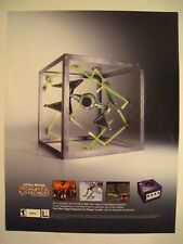 STAR WARS ROGUE LEADER Video Game E3 Giveaway Promotional Flyer/Mini-Poster 2001