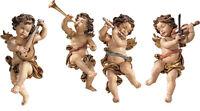 Putti- 4 Anges Joueurs Mural en Bois - 4 Angels For Wall Bois Sculpté