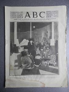 PERIÓDICO ABC 1ª GUERRA MUNDIAL 2 DICIEMBRE 1917 AMPLIOS REPORTAJES