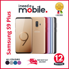 Samsung Galaxy S9 Plus 64/128/256GB UNLOCKED & Network Locked All Colours