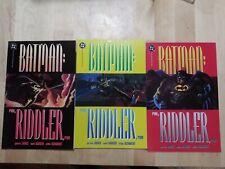 Dc Comics Batman Run, Riddler, Run 1-3