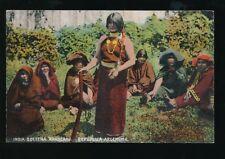 Argentina India Solters Araucana natives ethnic c1900/10s? PPC by Carmelo Ibarra