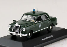 Mercedes 180 D Polizei 1953 1:43 Atlas Modellauto 02