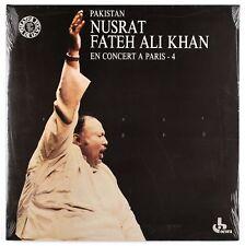 NUSRAT FATEH ALI KHAN - En concert à Paris - 1988 France LP Ocora