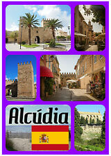 Alcudia,Majorca,SPAGNA - souvenir gadget CALAMITA FRIGO - NUOVO - REGALO/NATALE