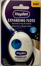 Pack Of 6 Hayden Expanding Floss, Polar Mint Flavor, 30 Yds. Each Package