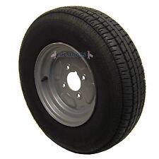 """Rueda y neumático de remolque 145 x 10"""" de 4 capas 4""""PCD"""
