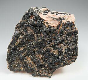 SPHALERITE crystals on Barite * Christine Mine * Germany * Ex. Kay Robertson