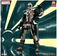 Mezco Toyz Collective One12 X-Force Deadpool PX Action Figure Previews Exclusive